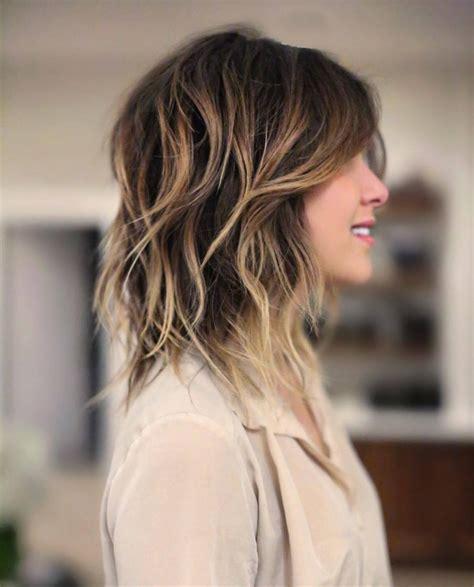ombre hair sur cheveux mi longs   absolument hallucinantes coupe de cheveux