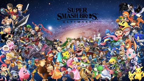 Smash Bros Anime Wallpaper - free smash bros ultimate wallpaper in hd