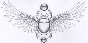 scarab beetle tattoos | Scarab Graphite Paper Tattoo ...