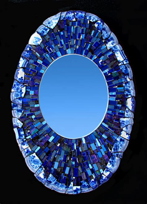 mosaic mirrors boxes shell designs