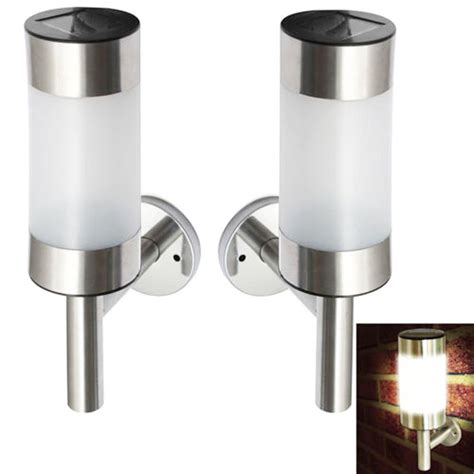 stainless steel outdoor solar wall lights solar power wall led light stainless steel outdoor