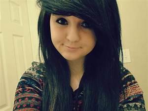 beautiful, black hair, girl, pretty eyes, smile - image ...