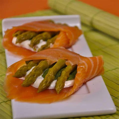 cuisine saumon recettes asperges vertes froides