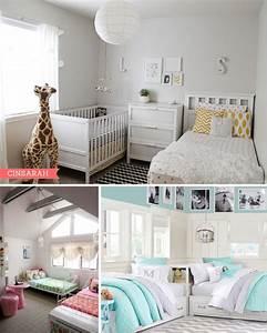 Lit Enfant Double : partager une chambre d 39 enfant les lits jumeaux ~ Teatrodelosmanantiales.com Idées de Décoration