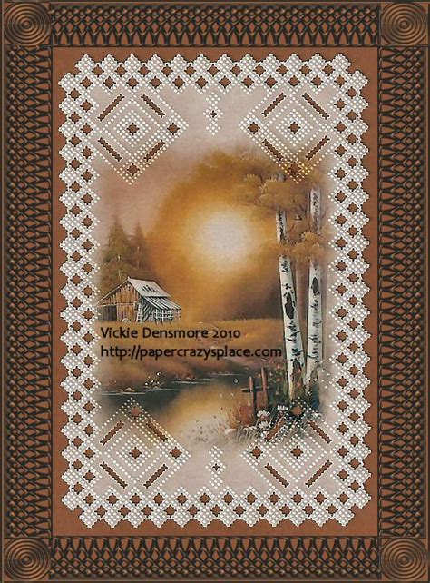 parchment craft  man cards