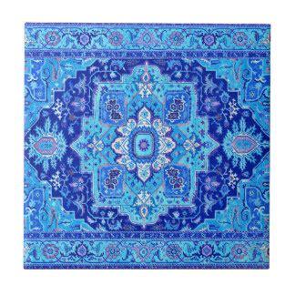 rug pattern ceramic tiles zazzle