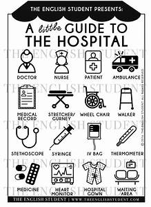 The English Student A Little Guide To The Hospital Medical