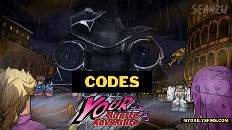 You should make sure to redeem these as soon as possible because you'll never know. YBA codes (Your Bizarre Adventure) February 2021