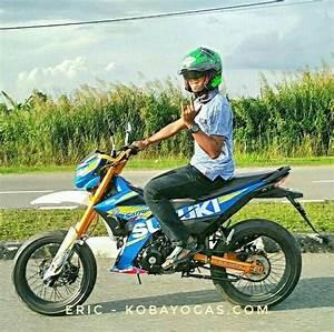 Modifikasi Suzuki Satria Fu 150 Injeksi Ala Supermoto