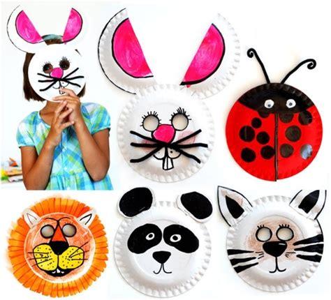 einfache tiermasken basteln faschingsmasken basteln sch 246 ne tiermasken mit kindern basteln