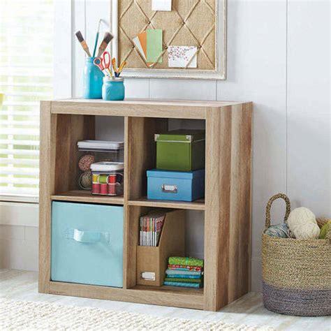 walmart shelf organizer better homes and gardens square 4 cube organizer