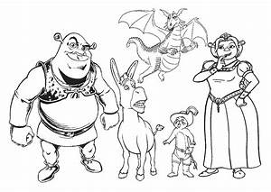 Best Of Shrek Coloring Pages Gallery Printable Coloring