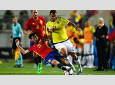 Spain v Colombia International friendly Match report