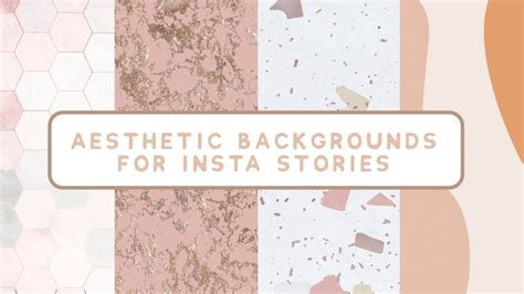 aesthetic backgrounds  instagram stories youtube