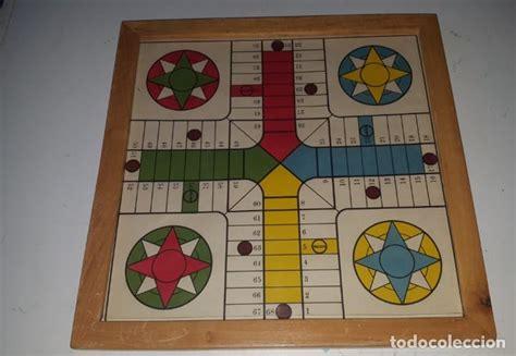 Realizado tanto la caja como las fichas en. antiguo juego del parchis con marco de madera y - Comprar Juegos de mesa antiguos en ...