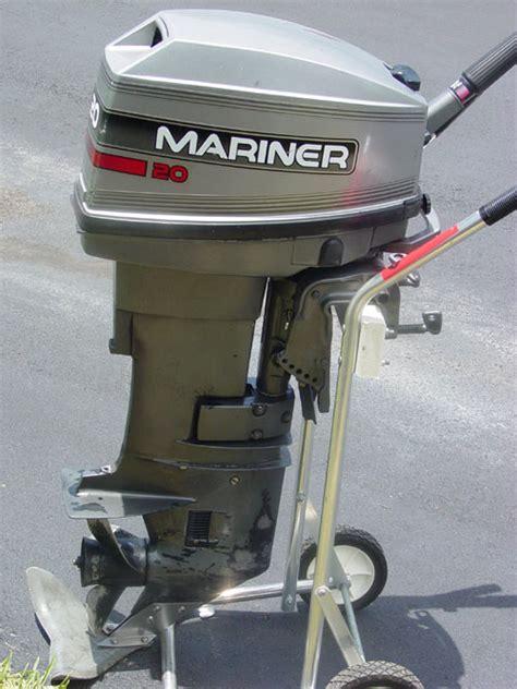hp mariner outboard boat motor  sale