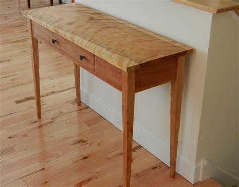 Hardwood Shaker Hall Table   Hawk Ridge Furniture   St. Johnsbury, VT