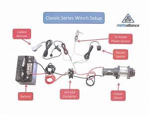 Champion 4500lb Winch Wiring Diagram