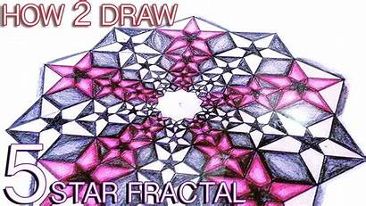 Fractals Clipart Drawing Draw Clipground Sacred Geometry
