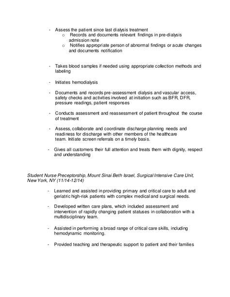 Acute Dialysis Resume by Acute Dialysis Resume