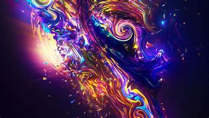 Abstract Colorful Fractal Carnival 4k Uhd Widescreen