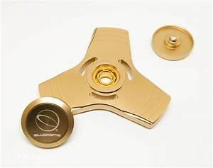 Fidget Tri Spinner Gold Orbitz Gear Store
