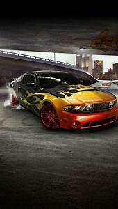 iphone 5 wallpapers hd: COOL MUSTANG FRONT CAR IPHONE 5 ...