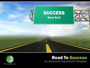 success powerpoint templates free download road powerpoint With success powerpoint templates free download