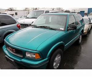 1995 Gmc Jimmy Sls  2 Door Suv  Green  Vin