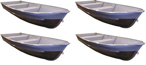 Aluminum Row Boat by Polar 14 Aluminum V Row Boat 4 Pack