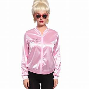 Retro 1950s Grease Pink Ladies Jacket Costume T-Shirt ...