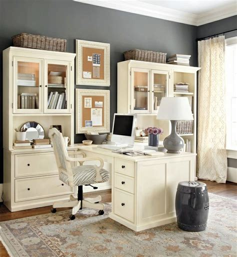 cream colored desk chair home office ideas working from home in style