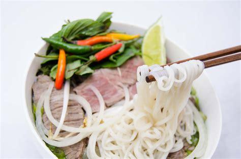 noodle soup pho thai village restaurant
