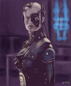 BORG seven of nine by shanryan on DeviantArt