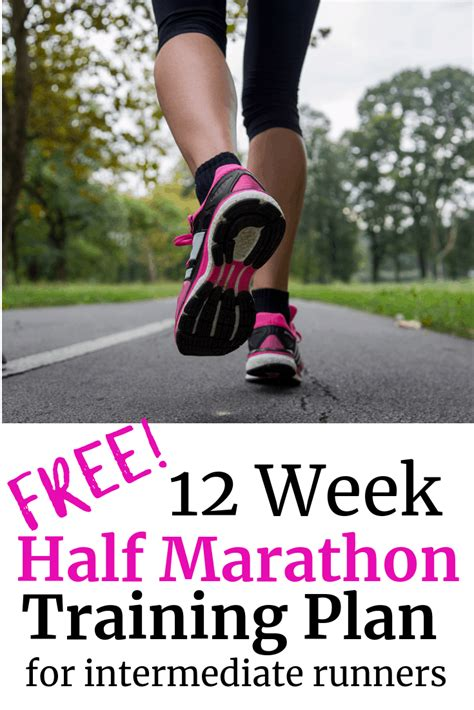 Potato To Half Marathon In 12 Weeks by 12 Week Half Marathon Schedule For Intermediate