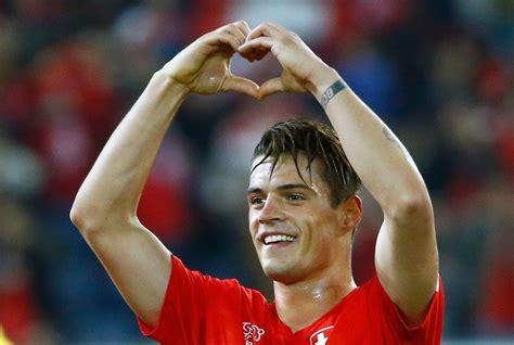 Granit Xhaka   Players   First Team   Arsenal.com