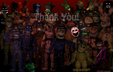 the return to freddy 1 2 3 4 5 favourites by god450 on deviantart