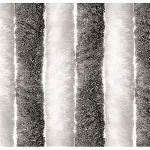 Rideau Gris Et Blanc : rideau chenille gris blanc 60 x 185 top accessoires ~ Teatrodelosmanantiales.com Idées de Décoration