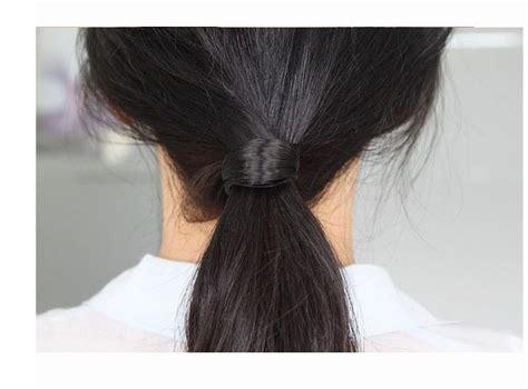kuncir rambut panjang jual beli kuncir ikat rambut lurus