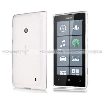 housse portable nokia lumia 520 coque nokia lumia 520 silicone transparent housse blanche