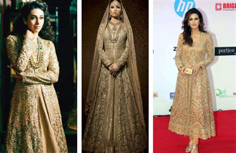 Golden Indian Wedding Outfits