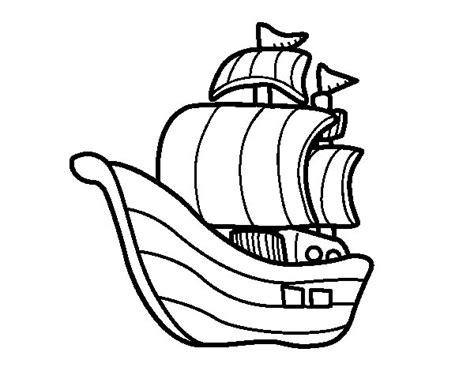 Barco Dibujo Para Pintar by Dibujo De Barco De Corsarios Para Colorear Dibujos Net