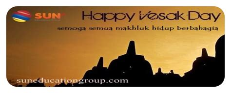 happy vesak day  sun education group