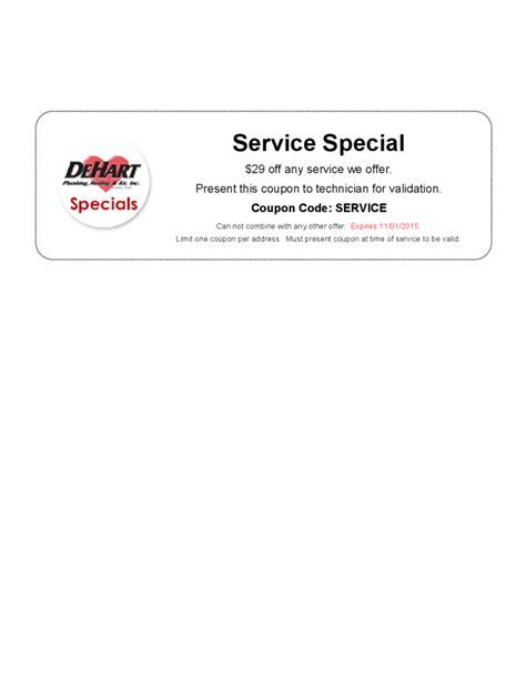 sample service coupon template
