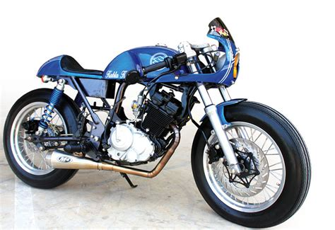 Modif Retro by Suzuki Satria Fu 09 Cirebon Hyperunderbone Cafe Racer