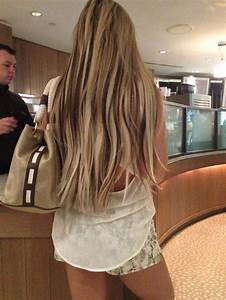 Blonde Hair With Dark Brown Highlights Awesome Idea For