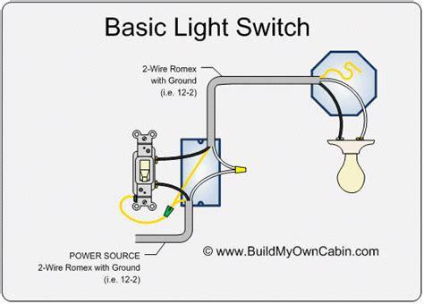 wiring  light switch