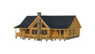 Single Story Log Cabin Floor Plans