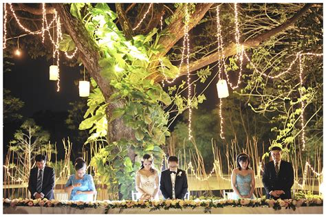 dekorasi wedding outdoor konsep tema rustic