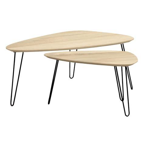 table basse gigogne table basse gigogne bois